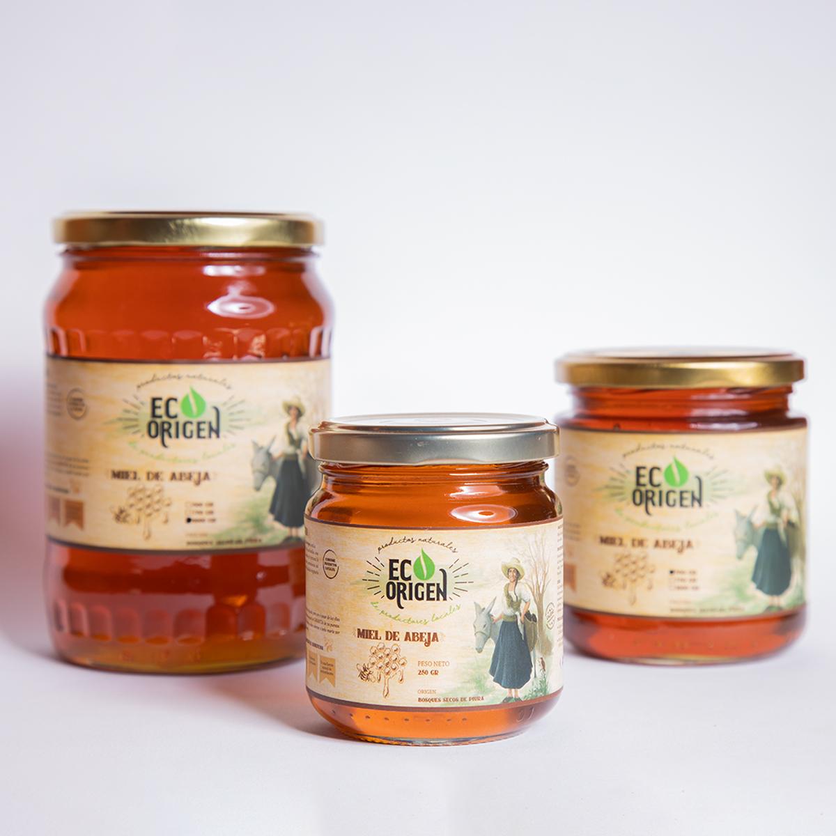 Miel de abeja Eco Origen de Piura