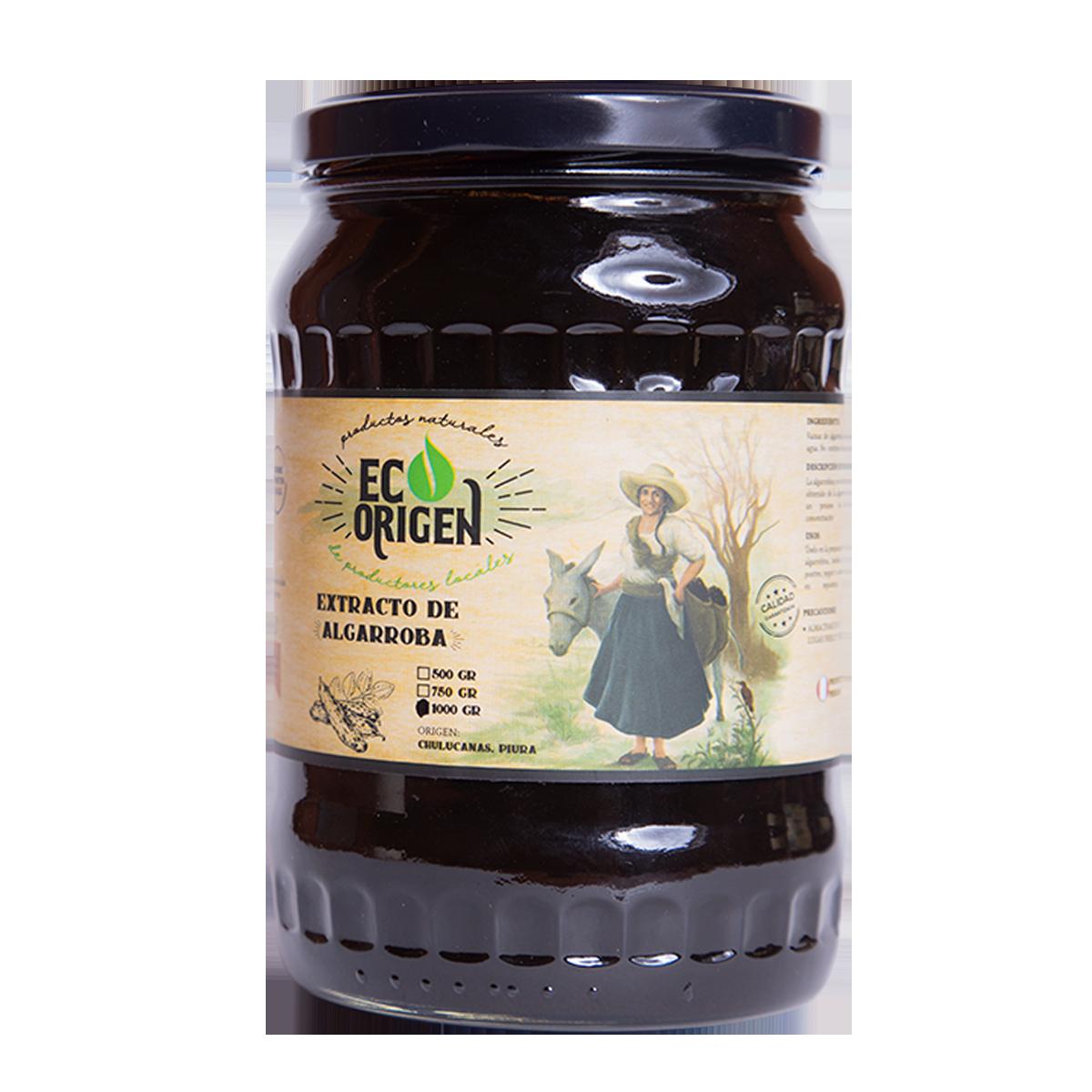 Extracto de algarroba Eco Origen x 1000 gr en PNG