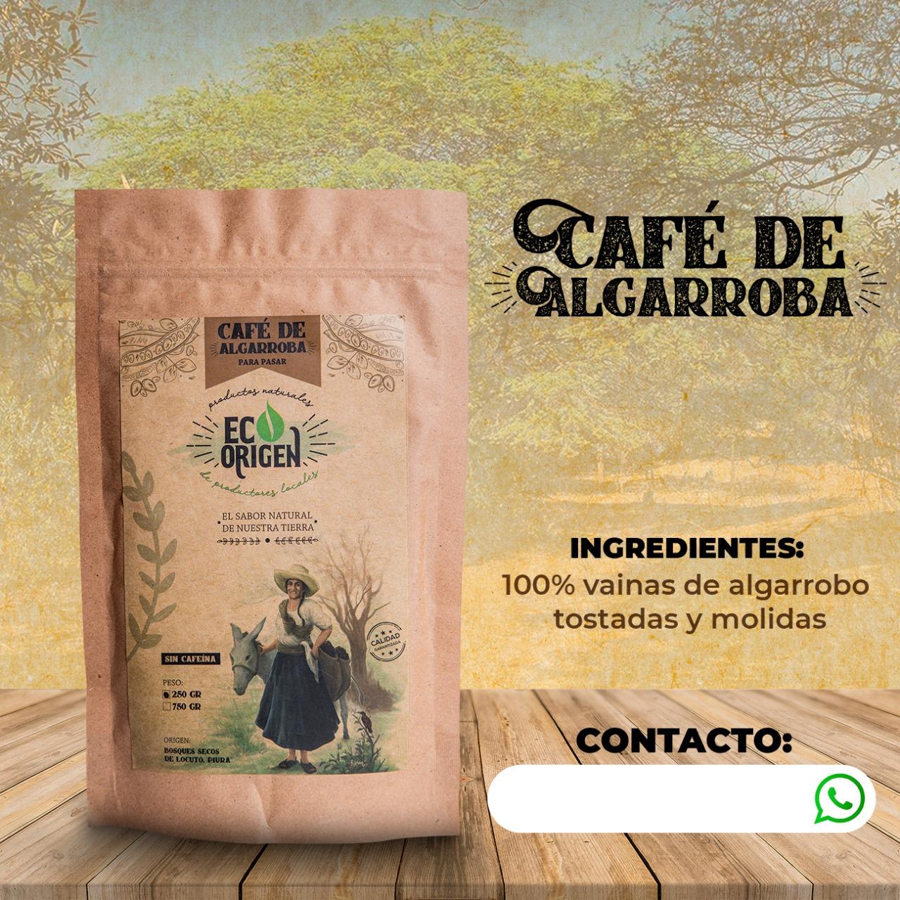 Café de algarroba Eco Origen