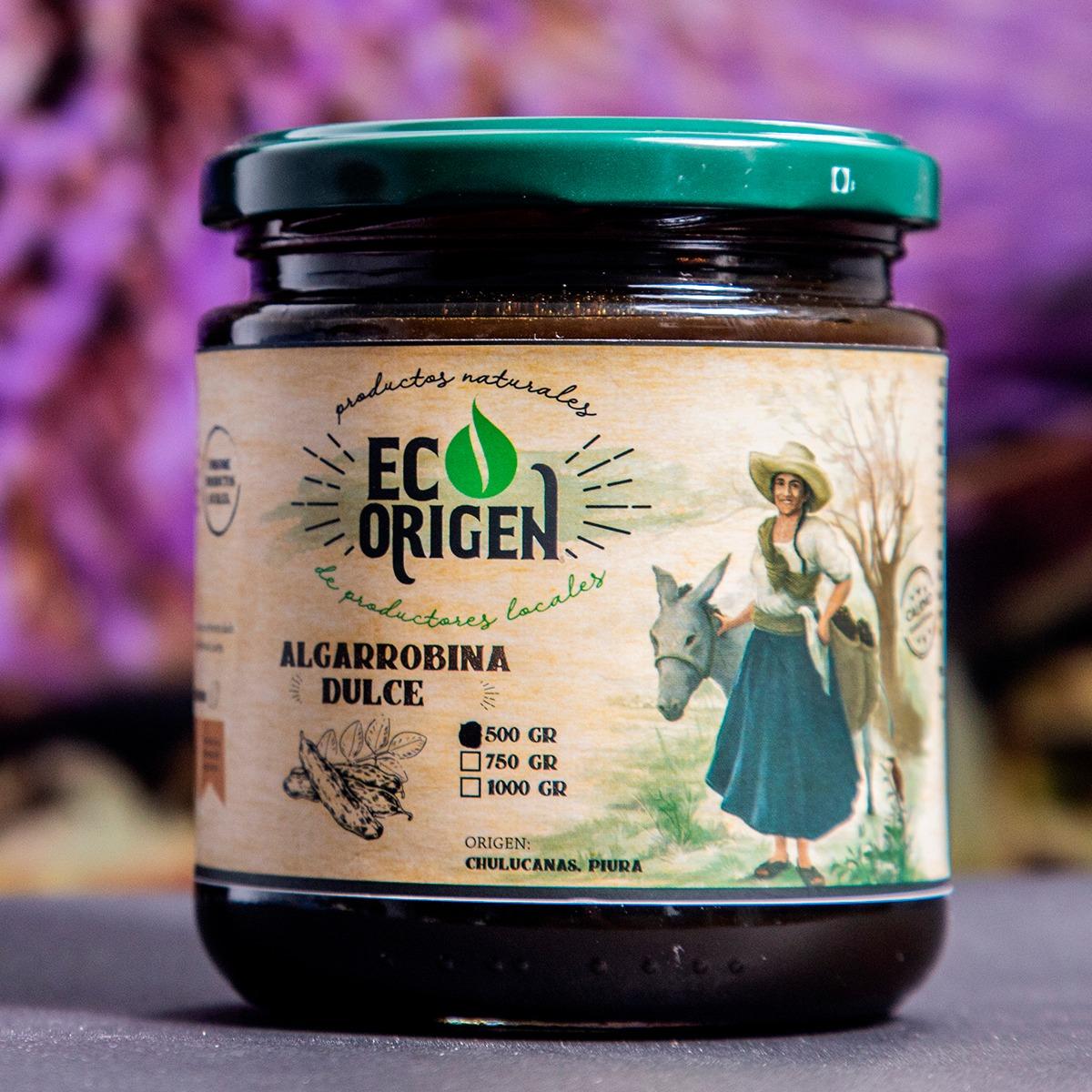 Algarrobina Dulce Eco Origen x 500 gr. Foto