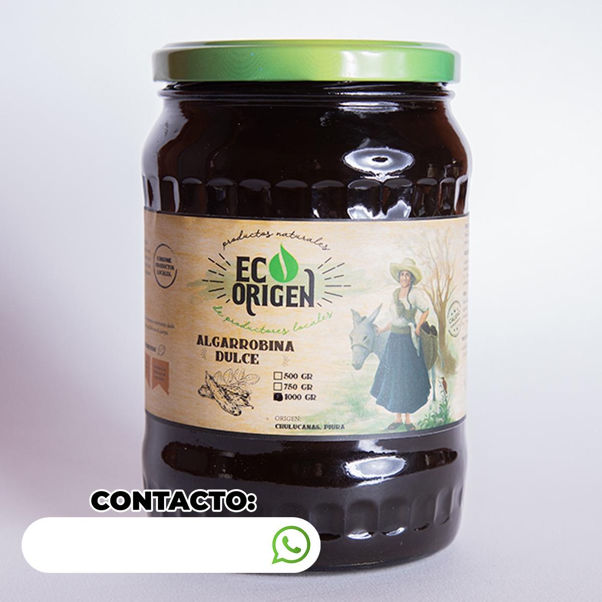 Algarrobina dulce Eco Origen x 1000 gr. Publicitario