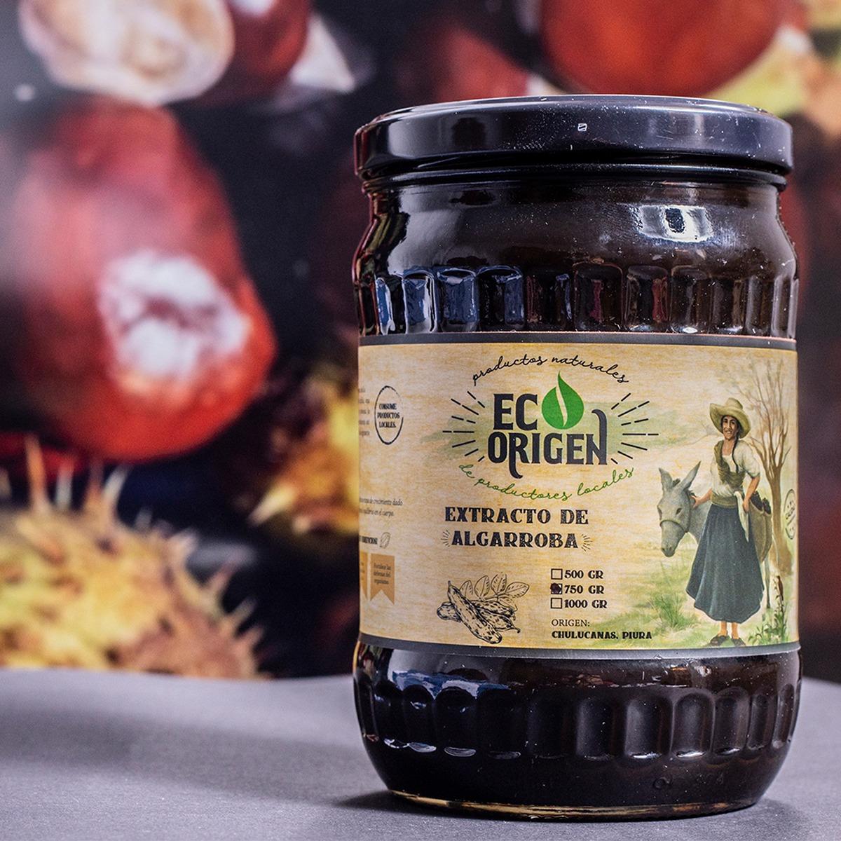 Extracto de algarroba Eco Origen x 750 gr